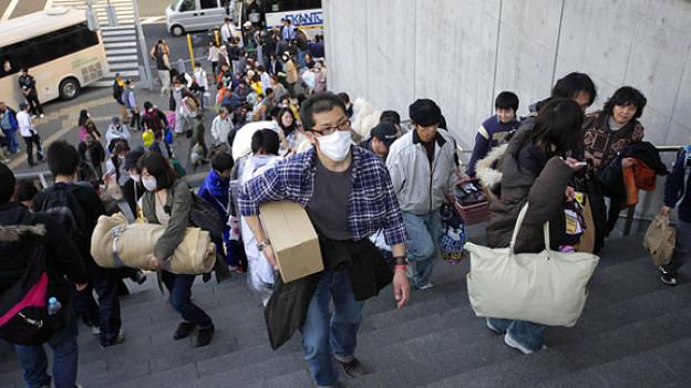 Umsiedeln nach der Katastrophe: Evakuierte aus Futaba.