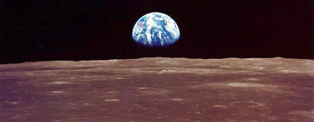 Aufgehende Erde: Fotos aus den 70ern veränderten unseren Blick auf die Erde.