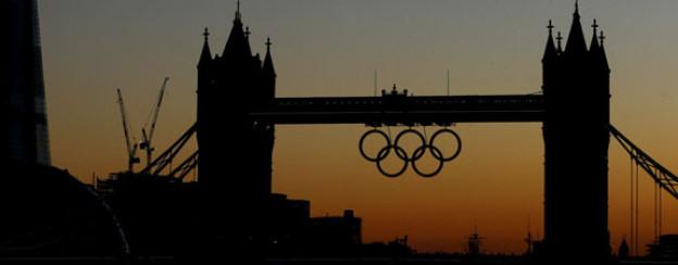London ist im Olympiafieber - die Finanzkrise ist für kurze Zeit vergessen.