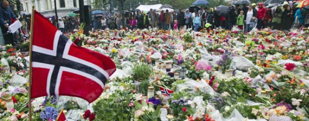 Immer noch herrschen Fassungslosigkeit und Trauer angesichts der Anschläge in Norwegen (Archivaufnahme vom 24. Juli 2011).