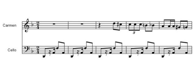 Laut Fladt ein «Knüller mit Ohrwurmcharakter», die Habanera von Bizet. Die deutsche Sängerin Nicole gewann 1982 mit einem Cover den Grandprix.