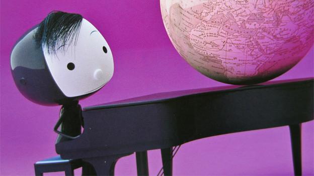 Bild aus Oscar Brenifier / Jaques Deprés (Ill.): Was, wenn es nur so aussieht, als wäre ich da?