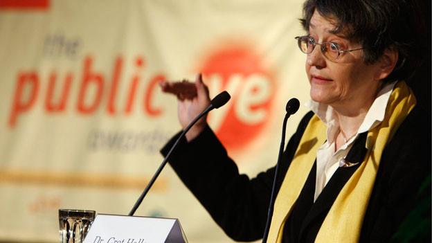 Die SP-Politikerin Gret Haller wirkte vier Jahre lang im Auftrag der OSZE als Ombudsfrau für Menschenrechte des Staates Bosnien-Herzegowina in Sarajevo.