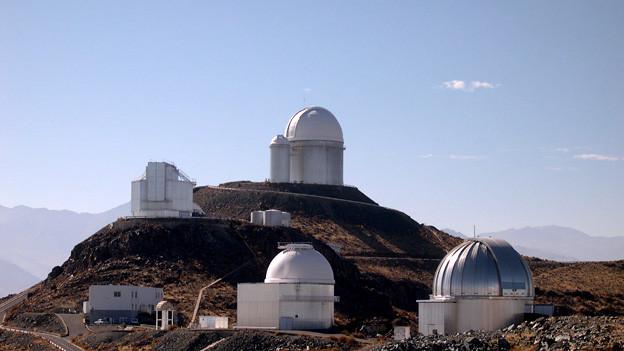 Das La-Silla-Observatorium der Europäischen Südsternwarte in Chile.