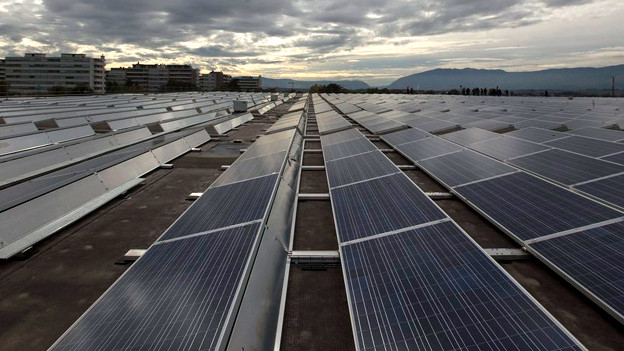 Die Entwicklung der Solarenergie ist in der Schweiz nicht da, wo sie sein könnte.