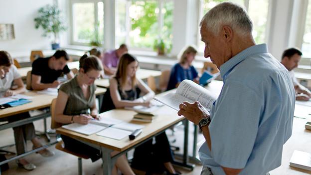 Was geschieht mit dem Expertenwissen? Ich den nächsten 15 Jahren werden 35 Prozent aller Lehrpersonen pensioniert.
