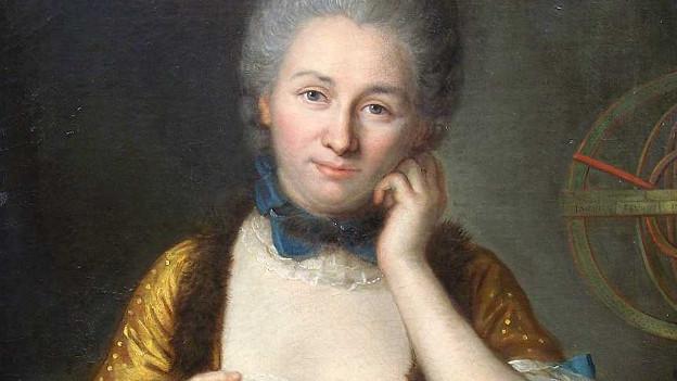 Porträt von Emilie du Châtelet