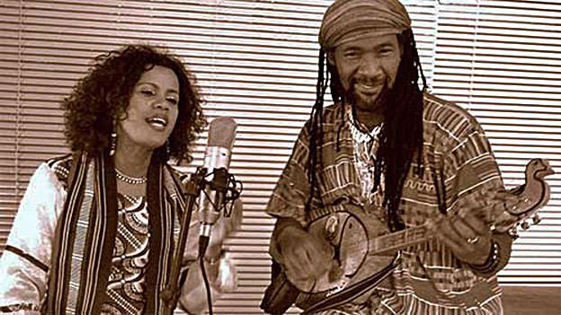 Das Duo Talilema aus Madagaskar:Talileke Gelle und Kilema Randrianatoandro