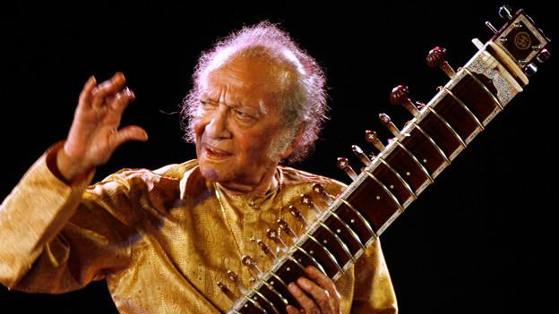 Ravi Shankar, live in Kalkutta, 2009.