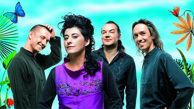Asita Hamidi mit ihrer Gruppe «Garden of Silence».