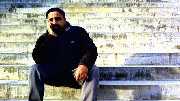 Der Perkussionist Omri Hason