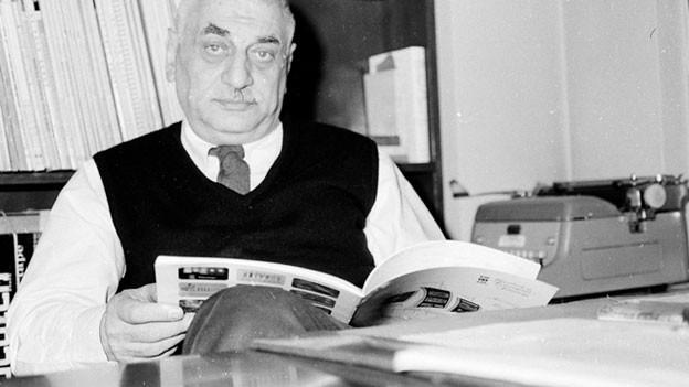 Er gründete die Plattenfirma 1949 und ihm schwebte dabei eine Enzyklopädie der klingenden Welt vor.