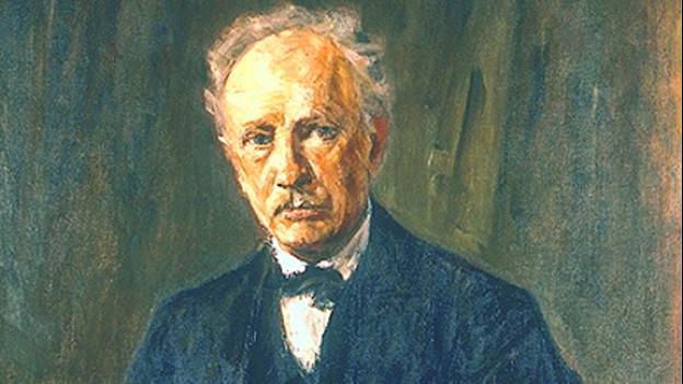 Poträt von Richard Strauss, gemalt von Max Liebermann 1918.