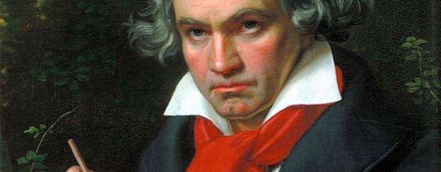Portrait von Ludwig van Beethoven, gemalt 1820 von Joseph Karl Stieler.