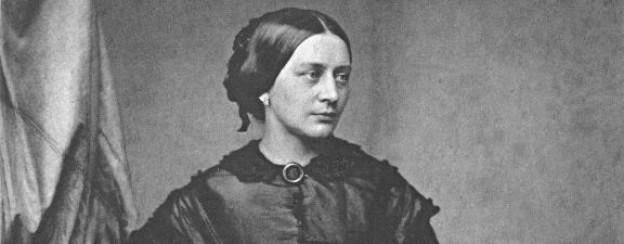 Clara Schumann, ca. 1850.
