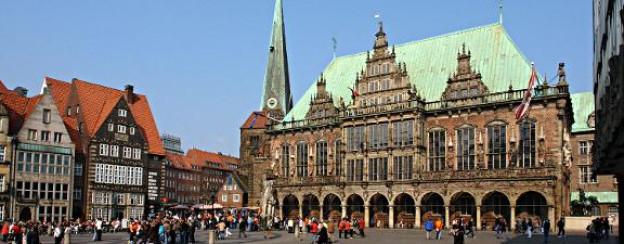 Das Rathaus von Bremen - ein Wahrzeichen der Weser-Renaissance.