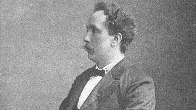 Richard Strauss um 1900.