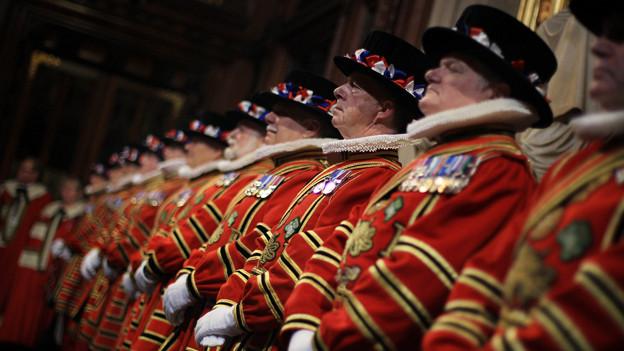 «The Yeomen of the Guard» sind die Leibgarde des britischen Königshauses.