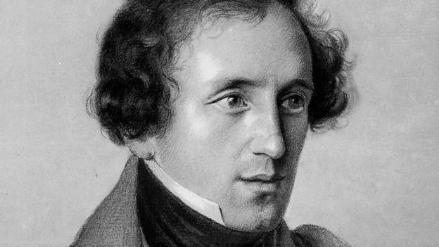Felix Mendelssohn, undatiertes Portrait.