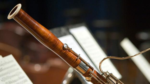Luke Bedfords Lieblingsinstrument: das Fagott.