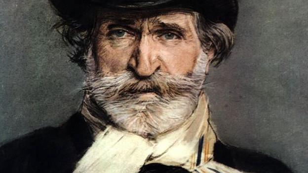 Giuseppe Verdi, Portrait von Giovanni Boldini, 1886.