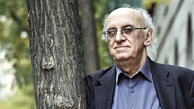 Ein kritischer Grieche - der Schriftsteller Petros Markaris.