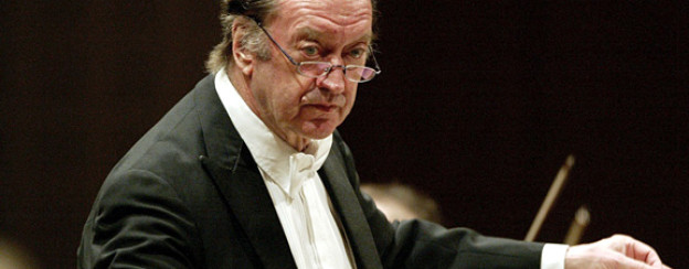 Dirigent Nikolaus Harnoncourt am Lucerne Festival, 2006.