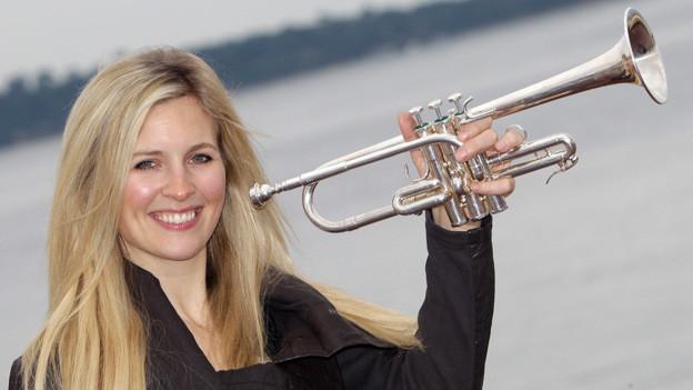 Die englische Trompeterin Alisom Balsom.