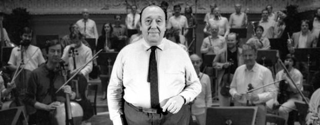 Nello Santi im Stadtcasino Basel, 1986.