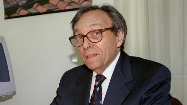 Der Professor und Schriftsteller Jean Starobinski.
