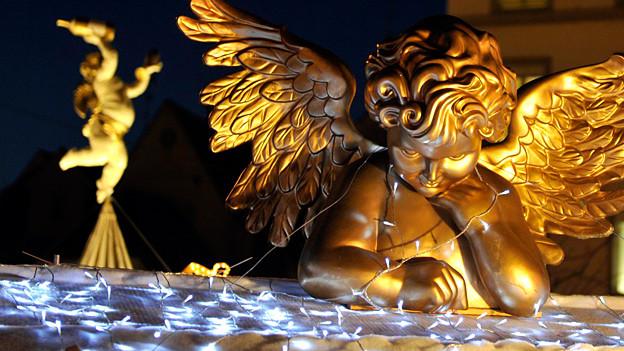 Engel sind gefragt: Sie sollen in jeder Situation helfen.