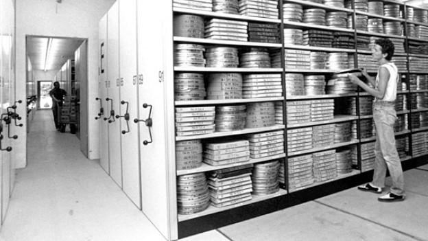Archiv und Eldorado für Cinephile: die Cinémathèque in Lausanne.