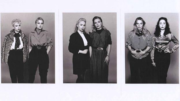 Fotografische Studien aus der Reihe «As Time Goes By. 1982, 1988, 1997».