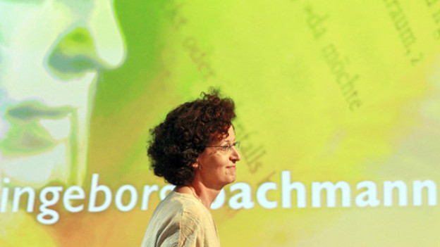 Gewinnerin des Bachmann-Preises 2011: Maja Haderlap bei der Preisverleihung.