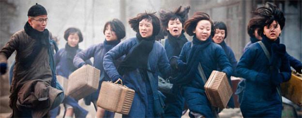 Szene aus «The Flowers Of War» von Zhang Yimou, Aushängeschild des chinesischen Kinos.