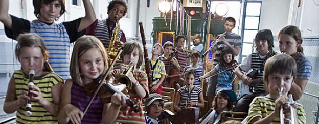 Der «Gare des enfants», ein Musikprojekt für Kinder.