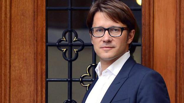 Mit Fleiss für die Kultur: Andrew Holland, Direktor der Pro Helvetia.