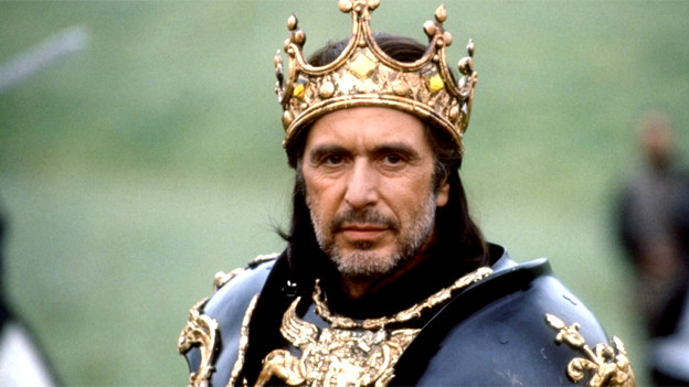 Auch Al Pacino spielte Richard III. in dem Film «Looking for Richard» (1996).
