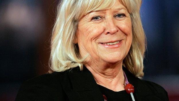 Regisseurin Margarethe von Trotta am Film Festival in Rom.