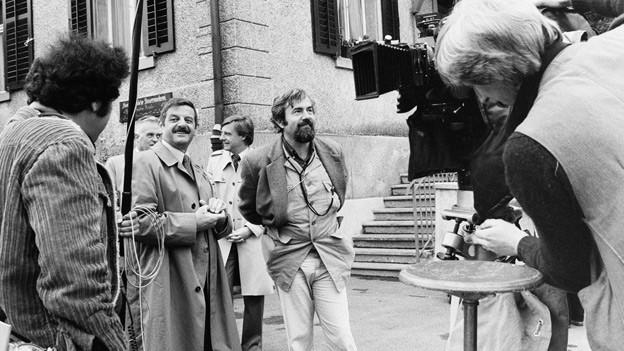 Kein Sorgenkind: Dreharbeiten zum erfolgreichsten Schweizer Film, «Die Schweizermacher», 17.6.1978