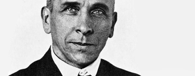Der Wissenschaftler Alfred Wegener um 1925.