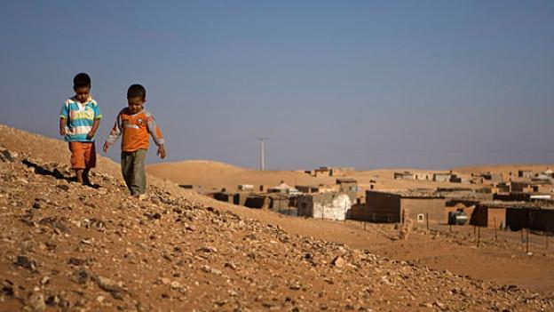 Viele Menschen leben unter schwierigen Bedingungen in der Westsahara.