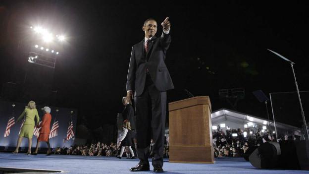 US-Präsident Obama gibt nach seinem Wahlsieg die Richtung vor