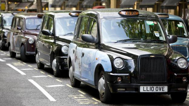 Die Herstellerin der Black Cabs musste Konkurs anmelden