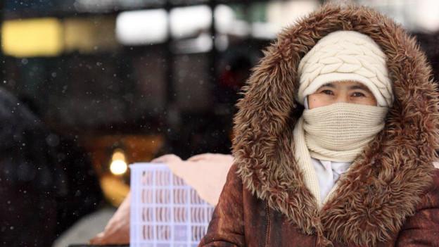 Frieren bei minus 20 Grad: Kirgistan leidet unter einer Kältewelle