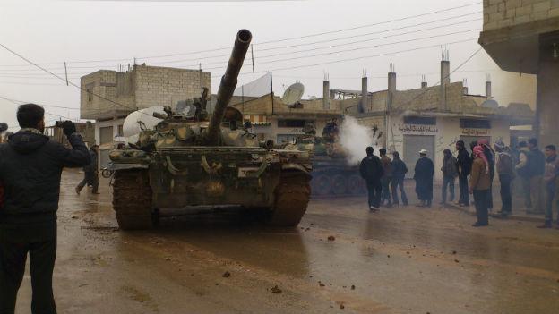 Die Schlinge um Assads Regierung scheint sich zuzuziehen