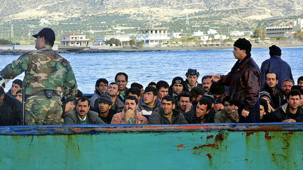 Für viele Flüchtlinge ist Griechenland das Tor zu Europa