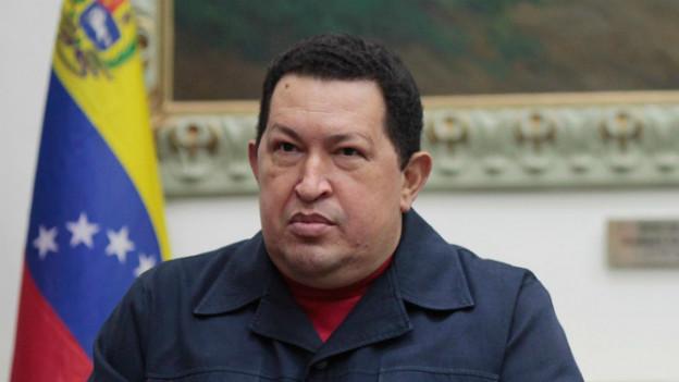 Hugo Chávez bei seinem letzten öffentlichen Auftritt am 8. Dezember.