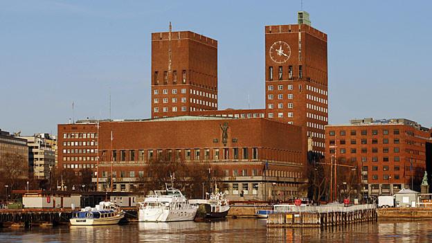 Norwegens Hauptstadt Oslo.
