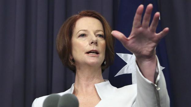Julia Gillard wehrt sich gegen Sexismus